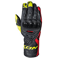 Ixon Rs Circuit-r Gloves Black Red Yellow