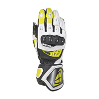 Ixon Rs Genius 2 Gloves White Yellow