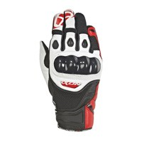 Ixon Rs Recon Air Gloves White Red