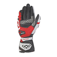 Ixon Rs Tilt gloves rojo blanco