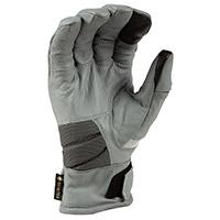 Klim Adventure Gtx Short Gloves Monument Grey