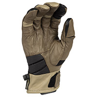 Klim Adventure Gtx Short Gloves Tan
