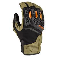 Klim Baja S4 Gloves Sage Strike Orange