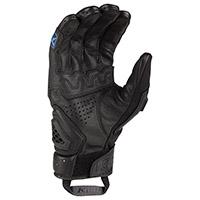 Klim Baja S4 Gloves Black Kinetik Blue