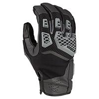 Klim Baja S4 Gloves Asphalt Black