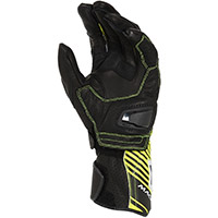 Guantes Macna Airpack negro fluo amarillo