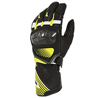 Macna Airpack Gloves Black Fluo Yellow