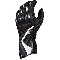 Macna Apex Gloves Black White Red