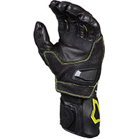 Macna Apex Gloves Black Yellow