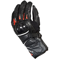 Macna Street R Youth Gloves Black White Red Kid