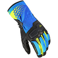 Macna Terra Rtx Gloves Black Blue Yellow