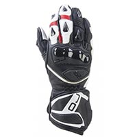 Oj Feat Racing Gloves White Black