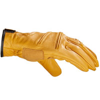 Spidi Old Glory Leather Gloves Ocher