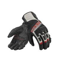Rev'it Sand 3 Gloves Black-red