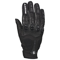 Scott Assault Pro Gloves Black White