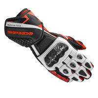 Spidi Carbo 5 Leather Glove Red