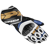 Spidi Carbo 7 Gloves Blue Gold