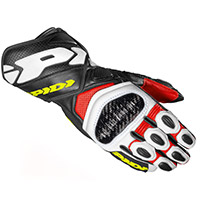 Spidi Carbo 7 Gloves Red Yellow