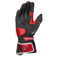 Spidi Carbo 7 Gloves Red