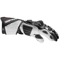 Gants Spidi Carbo Track Evo Blanc