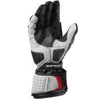 Spidi Carbo Track Evo Handschuhe weiss - 3