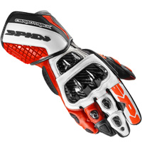 Spidi Carbo Track Evo Gloves Red