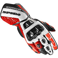 Gants Spidi Carbo Track Evo Rouge
