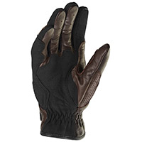 Spidi Clubber Leather Gloves Brown