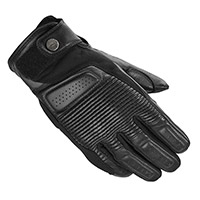 Spidi Clubber Leather Gloves Black