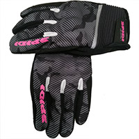 Spidi Flash Ce Lady Gloves Black Camouflag
