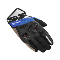 Guanti Moto Spidi Flash-r Evo Blu