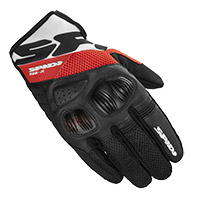 Gants Spidi Flash R Evo Rouge Blanc