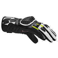 Spidi G Warrior Gloves Black Fluo Yellow