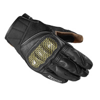 Spidi Rebel Gloves Black Yellow
