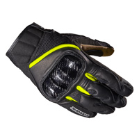 Spidi Rebel Gloves Black Fluo Yellow
