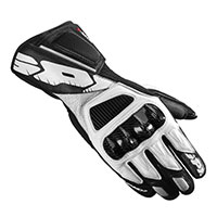 Spidi Str-4 Vent Leather Gloves Black White