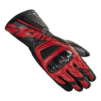 Spidi Str-4 Vent Leather Gloves Black Red