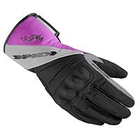Guantes Dama Spidi TX-T H2Out negro rosa