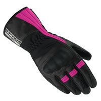 Spidi Voyager Gloves Lady Nero-fucsia Donna