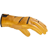 Spidi Summer Glory Leather Gloves Ocher