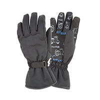 Tucano Urbano Password Kid Ce Gloves Nero Kid