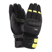 T.ur G-one Gloves Black Yellow Fluo