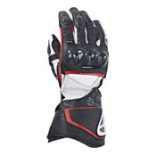Ixon Gloves Racing Rs Circuit Hp Black White Red
