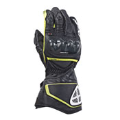 Ixon Gloves Racing Rs Circuit Hp Black Yellow Fluo
