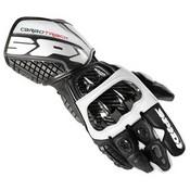 Spidi Carbo Track Glove Black White