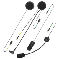 Xt Line Comfort Audio Kit Dual Microphone For F2/f2s/f3/f3s/f4/f4s