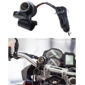 INTERPHONE CIGARETTE LIGHTER SOCKET FOR HANDLEBAR