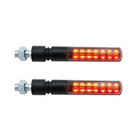 Lightech E8 Sequential Homologate Lights Black