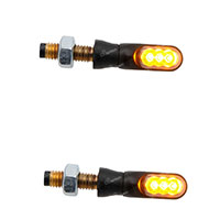 Lightech E8 Fre928ner Indicator Lights Black