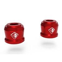 Espaciadores de manillar Ducabike BRM02 SF4 rojo